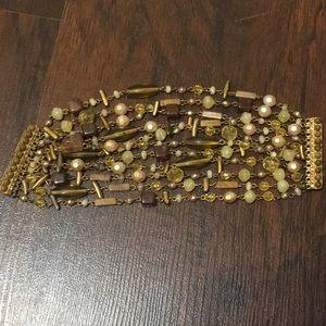 Beautiful multi layer beaded bracelet